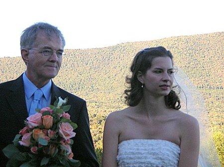 Dad and Lauren