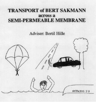 Bert Sakmann, transported