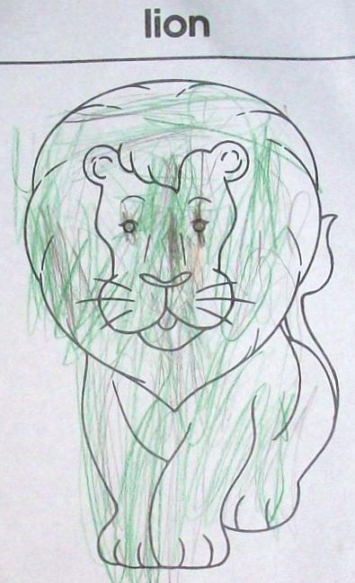 the Camo-Lion