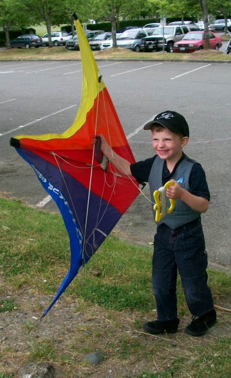 Phil with kite