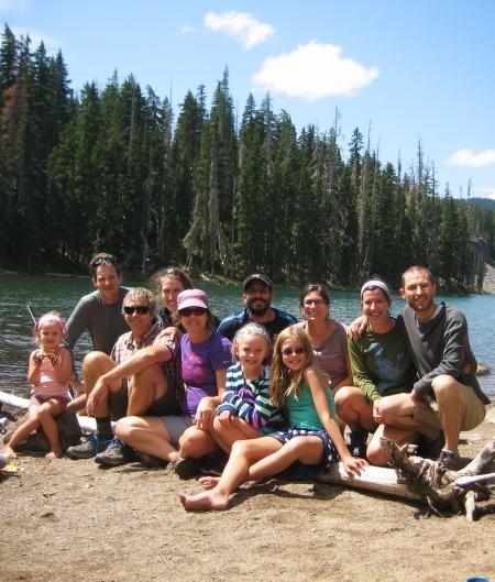 at Blow Lake