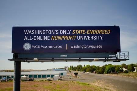WGU billboard