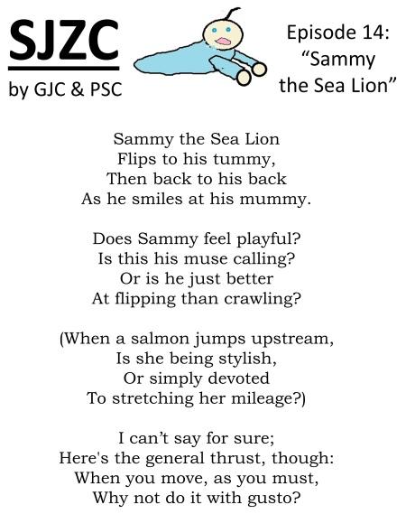 SJZC 14: a poem